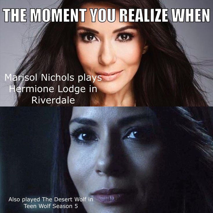 For all Teen wolf and Riverdale fans