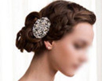 Bridal Pearl Hair Comb Pearl Starfish Hair Comb Hair Clip