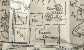 Harry Potter Fan Creates Marauder's Map To Propose To Girlfriend