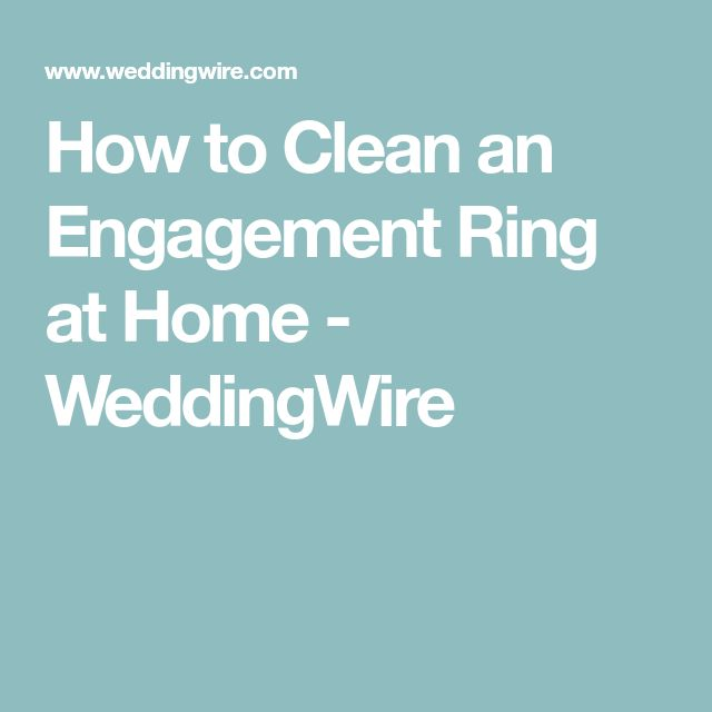Best 25 Diy engagement ring cleaning ideas on Pinterest