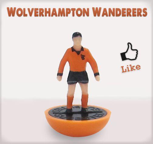 Wolverhampton Wanderers. #edicola #subbuteo #collezione