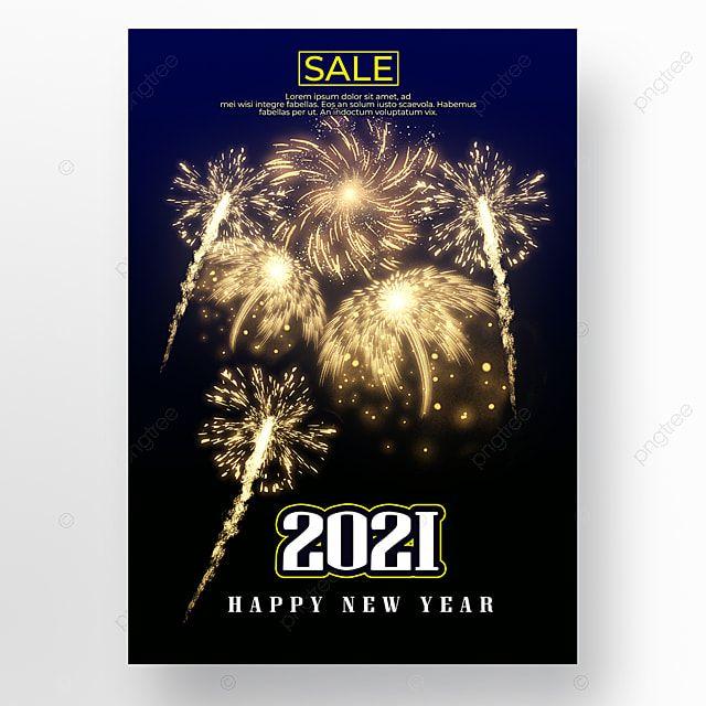 خلفية زرقاء سوداء الألعاب النارية العام الجديد Black And Blue Background Happy New Year Blue Backgrounds