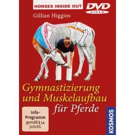 Die DVD zeigt über 30 leicht nachvollziehbare Übungen mit denen jeder Reiter sein Pferd gymnastizieren und beweglich halten kann.Die DVD zum Buch!Die DVD zeigt über 30 leicht nachvollziehbare Übungen mit denen jeder Reiter sein Pferd gymnastizieren und beweglich halten kann. Dabei werden Koordination Gleichgewicht Nachgiebigkeit und Muskelaufbau effektiv gefördert und verbessert. Gillian Higgins hat die gezeigten Pferde in ihrer bekannten Weise mit dem Knochen- und Muskelsystem bemalt…