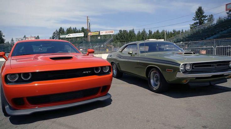 2015 Dodge Challenger SRT HEMI Hellcat VS 1970 Dodge Challenger 426 Hemi R/T