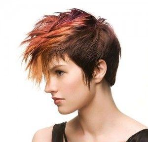 Hele wilde kleuren voor kort haar!