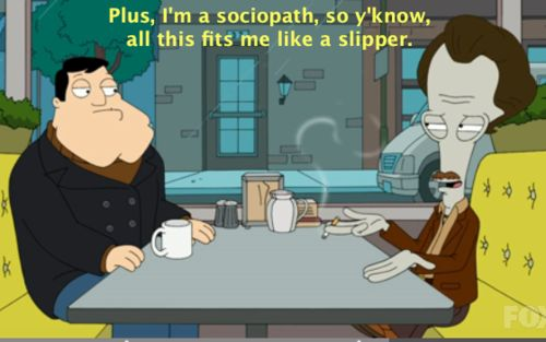hilarious american dad roger quotes | American Dad: Cops and Roger | fate keeps on happening