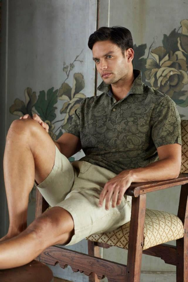 Polo Shirt Black Brown 1826