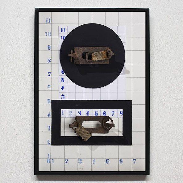 IRON FROZEN 1914 – 2016 / ATR 1965  Printing on paper Size: 29,7 x 42 Maurizio Di Feo