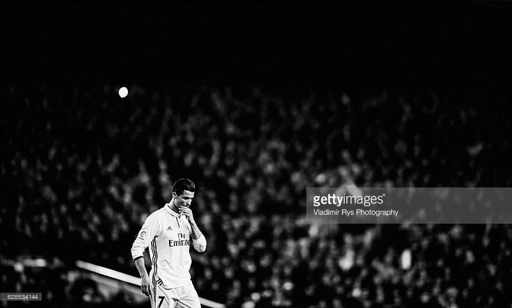 Cristiano Ronaldo of Real Madrid is pictured during the La Liga match between FC Barcelona and Real Madrid CF at Camp Nou stadium on December 03, 2016 in Barcelona, Spain.