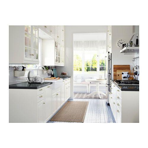 Off White Antique Kitchen Cabinets: BODBYN 2-p Door/corner Base Cabinet Set, Off-white