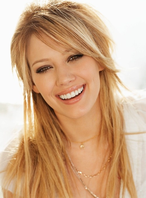 I love Hilary Duff's hair!