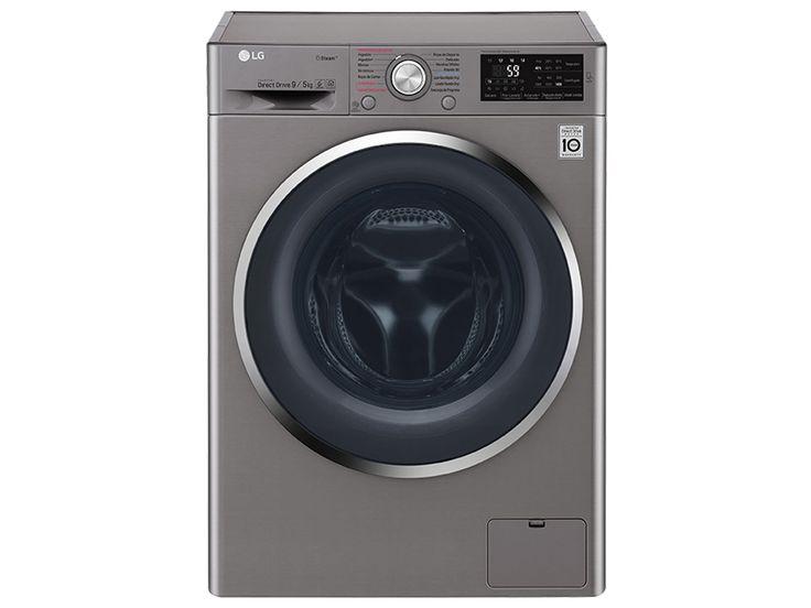 Lavasecadora LG 10 kg plata WD10SB6 Lavasecadora