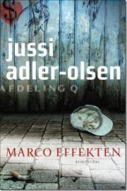 Marco effekten af Jussi Adler-Olsen, ISBN 9788756799065