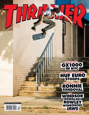 Thrasher Magazine - skateboarding news videos photos clothing skateparks events music and more