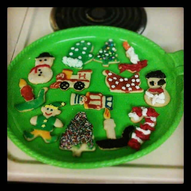 Christmas cookie plate of honor | My baking | Pinterest | Christmas ...