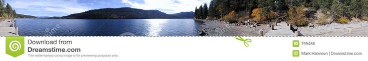 Panoramic Donner Lake Royalty Free Stock Photo - Image: 799455