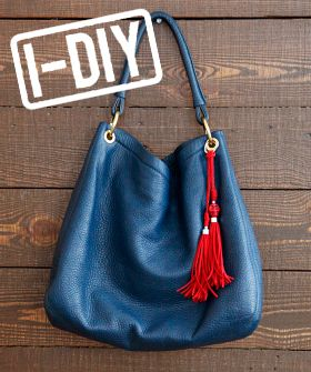 Dress Up Your Bags With 3 Easy DIY Tassels