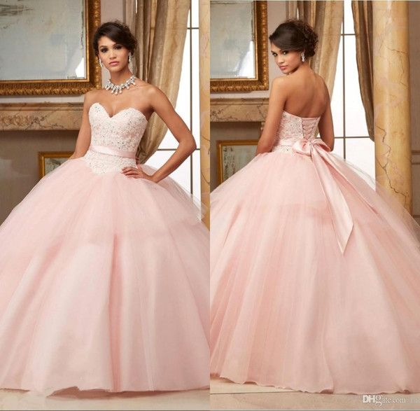 Best 25  Pink quinceanera dresses ideas on Pinterest | Princess ...