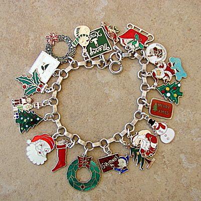 Christmas Charm Bracelet