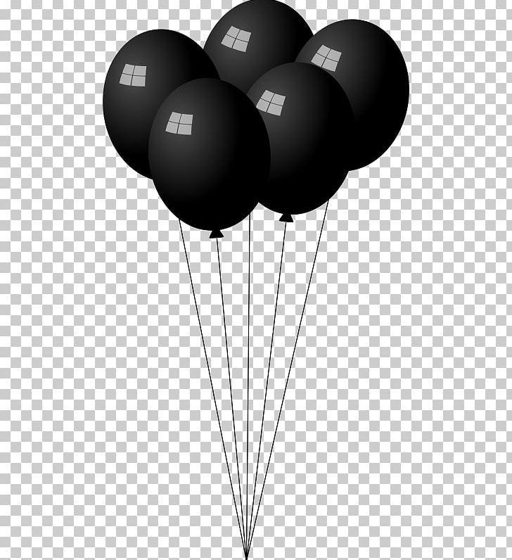 Balloon Png Balloon Balloon Clipart Balloons Birthday Black And White Balloons Balloon Clipart Png