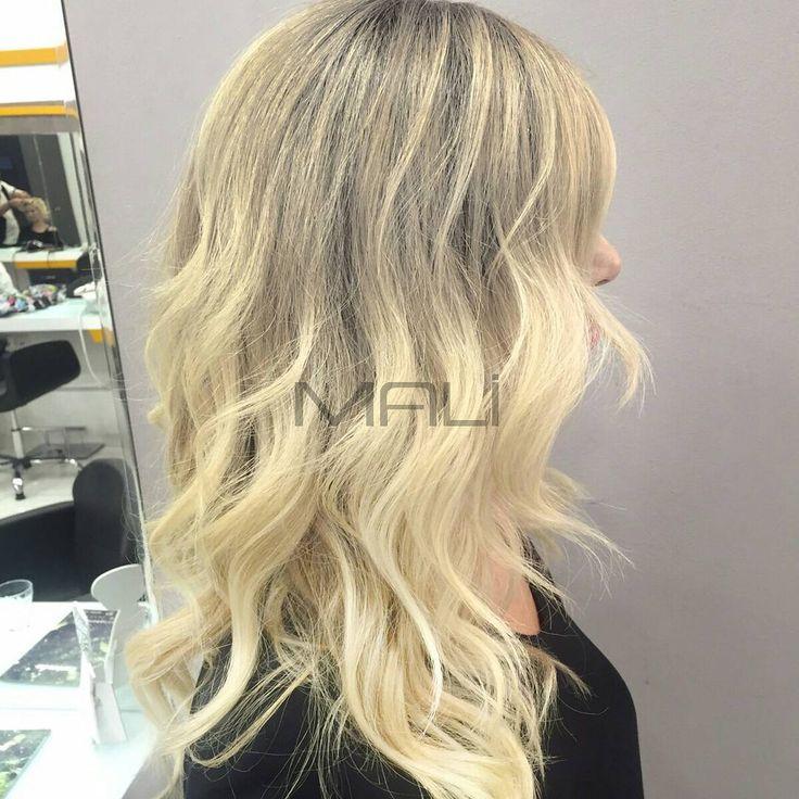 """#hairdesign #blondehair #malikuafor"""