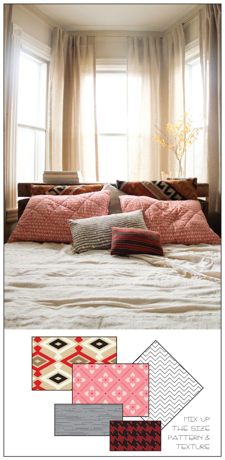 How To Arrange Pillows On The Bed Organization Junkie