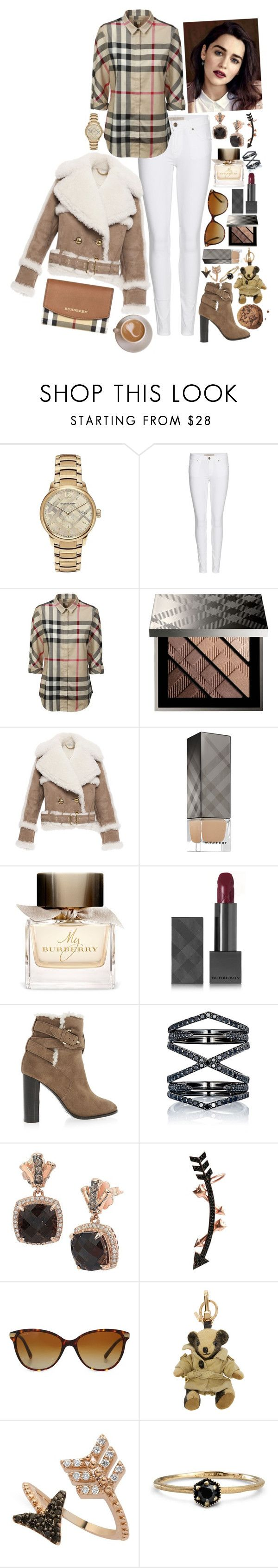 """7 Years - Cover by Jasmine Thompson"" by leo8august ❤ liked on Polyvore featuring Burberry, Eva Fehren, LE VIAN, Wild Hearts, Bee Goddess and Satomi Kawakita"
