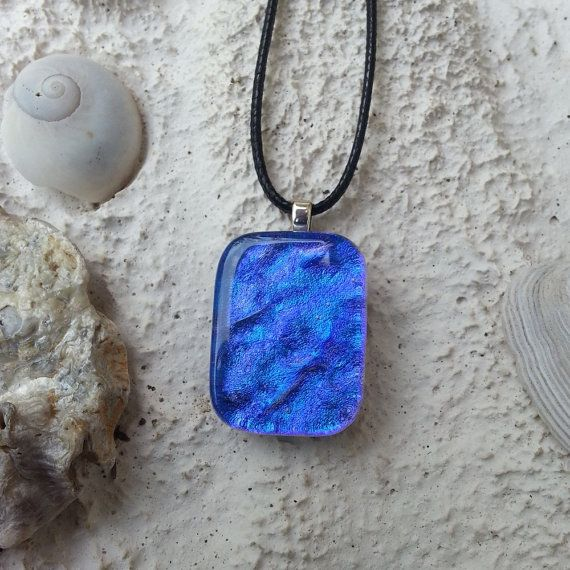 Amphitrite Glass Pendant & Necklace No 3. by IsabellaJewelDesigns