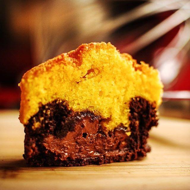 Falamos pouco dele mas é um dos queridinhos aqui da cozinha: #ofabulosobrownie + #nutella + #bolodecenoura. Isso é #foodporn ou não é?!