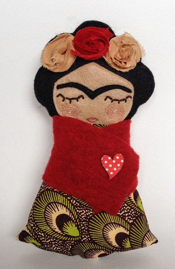 Frida Kahlo por Guadalupecreations en Etsy