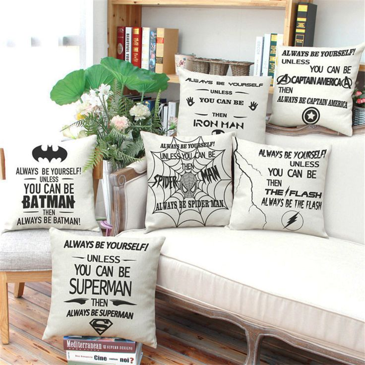 Marvel Super Heroes Spiderman Batman Superman Cushion cover Home Decor for Sofa Chair car decoration Pillow almofada cojines #clothing,#shoes,#jewelry,#women,#men,#hats,#watches,#belts,#fashion,#style