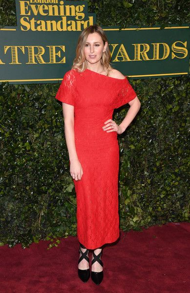 Laura Carmichael attends the London Evening Standard Theatre Awards at the Theatre Royal on December 3, 2017 in London, England.