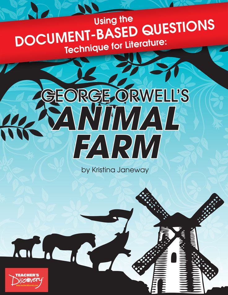 the use of character parallelism in animal farm a novel by george orwell Arm a study guide student's book contents about animal farm 2 before you read 4  the characters and events closely parallel the 1917 russian revolution and the soviet union, and orwell uses the story to expose the tyranny of the communist regime, and explore the reasons for its failure  george orwell's animal arm a study guide.