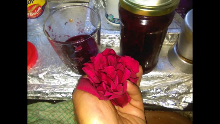How To Make Sweet With Rose Petals - Homemade - Super Easy And Healthy R...