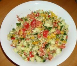 Rezept Paprika-Salat ( Rezept des Tages 09.02.12 ) von Heimchen - Rezept der Kategorie Vorspeisen/Salate