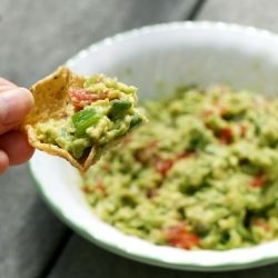 This delicious and healthy guacamole is the perfect addition to a summer barbeque or party.