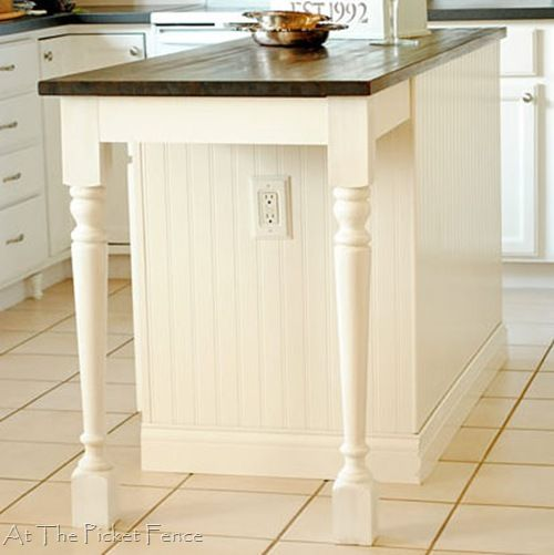 Kitchen Island Makeover Tutorial