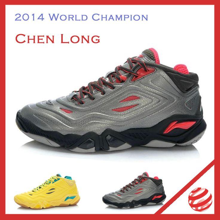 2014 томас кубок чемпионат мира профессиональные бадминтон обувь чен длинные подкладка бадминтон профессиональные обувь Li Ning AYAJ053