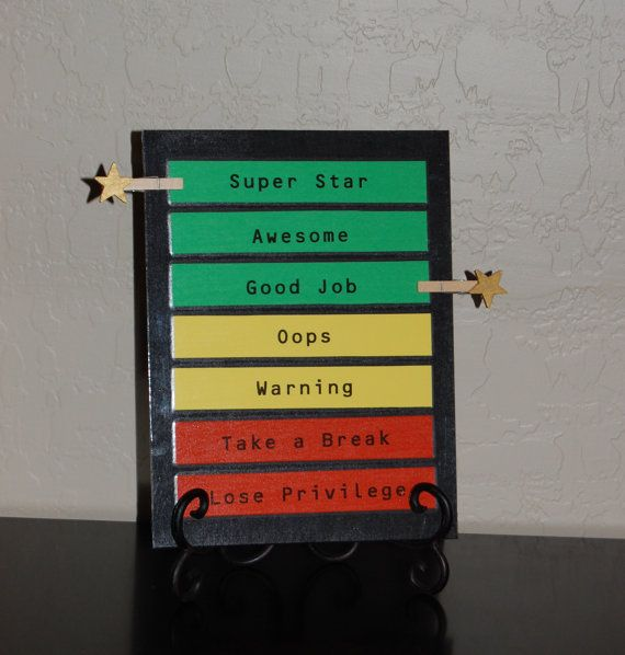 The Super Star Behavior Chart by mymypalz on Etsy, $14.00