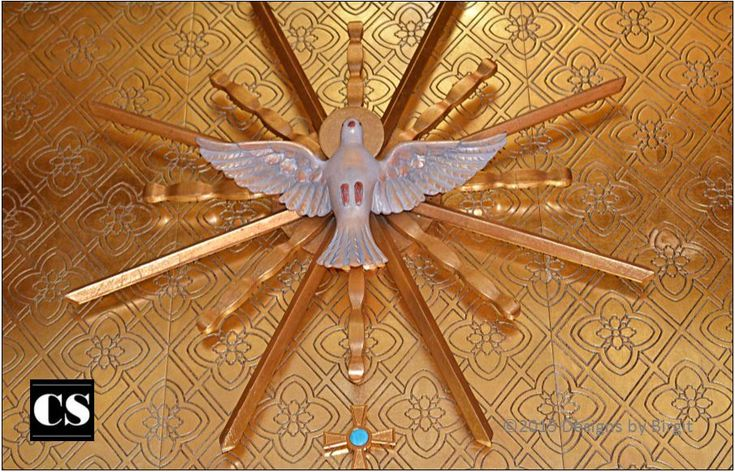 The Holy Spirit is the third person of the Blessed Trinity, just as active in the world today as ever.
