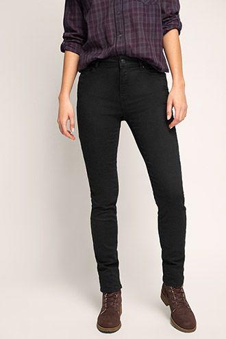 Esprit / Czarne dżinsy ze streczem typu basic