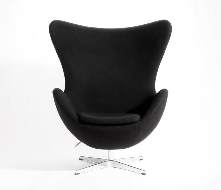 #Arne Jacobsens Egg 3316 in black #eggchair
