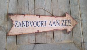 Wandbord Zandvoort aan zee 60 cm - 7433647242251 - Avantius