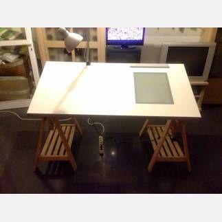 M s de 1000 ideas sobre mesa de dibujo en pinterest for Mesa plegable las palmas