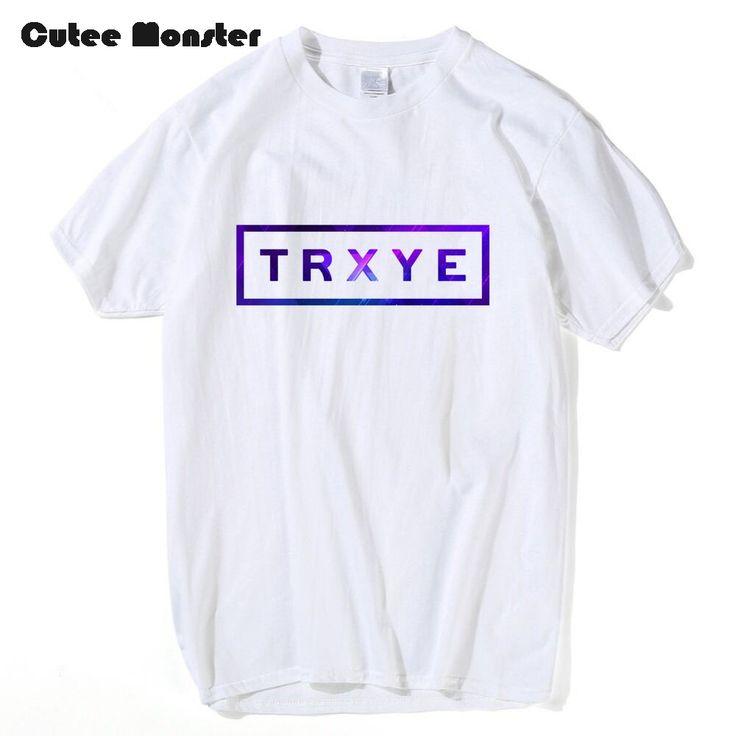 >> Click to Buy << Cutee Monster Summer TRXYE Letter T shirt Men Tshirt Streetwear Novelty T shirt Troye Sivan Tees Male Short Sleeve Funny T-shirt #Affiliate
