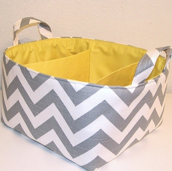 http://www.houzz.com/photos/679367/Chevron-Gray-White-Zig-Zag--Yellow-Accent-Diaper-Caddy-By-Treasured-Totes-contemporary-storage-and-organization-