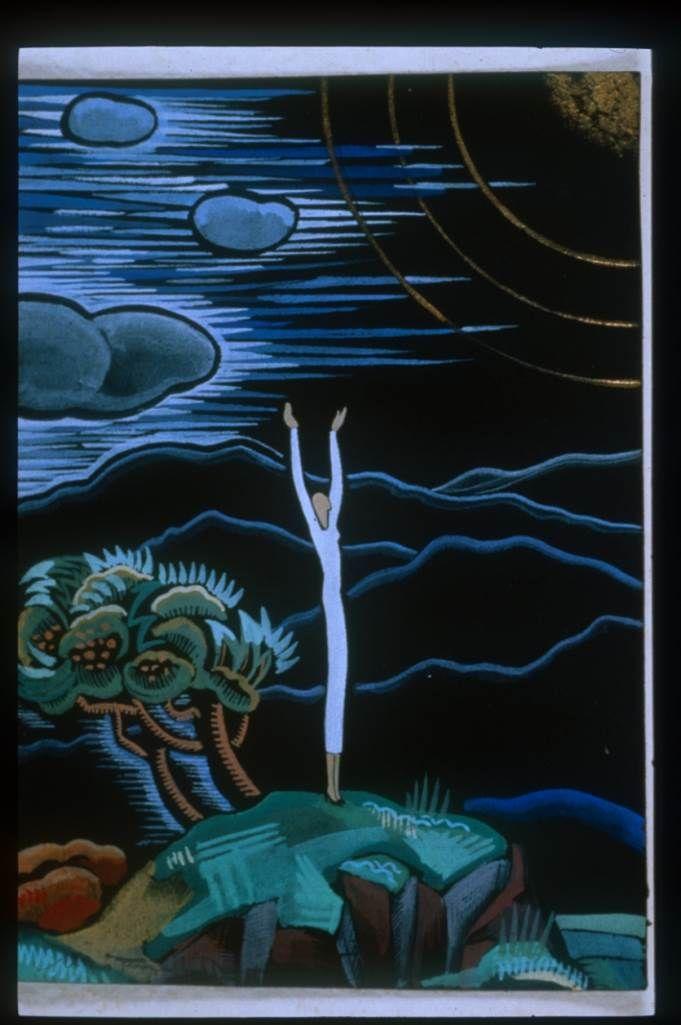 """Ilustración  para el """"Toi et moi"""", del poeta Paul Géraldy"""