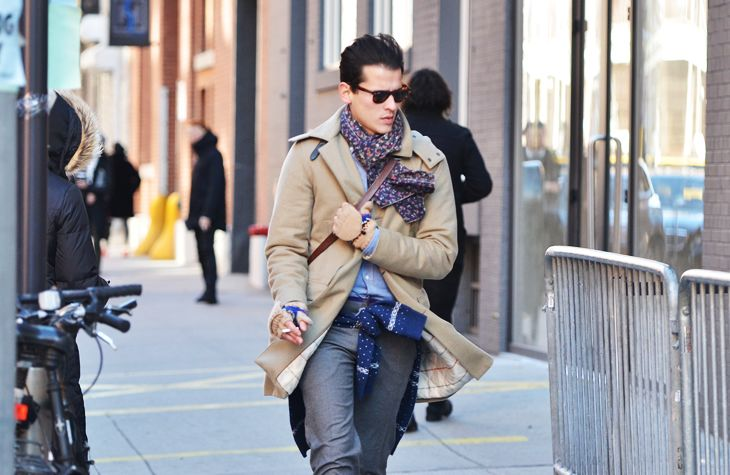 Love his style