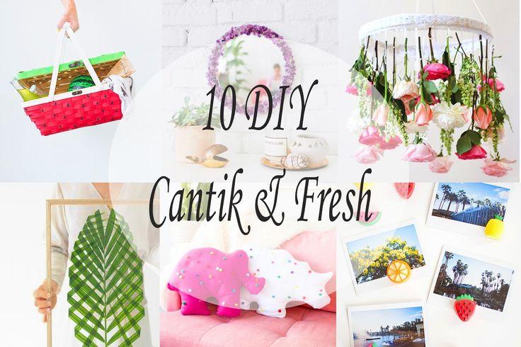10 DIY Cantik untuk Membuat Rumahmu Terlihat Lebih Fresh