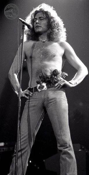 Robert Plant, 1977.